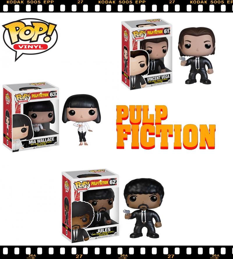 Funko Pop Movie Pulp Fiction Vincent Vega Mia Wallace