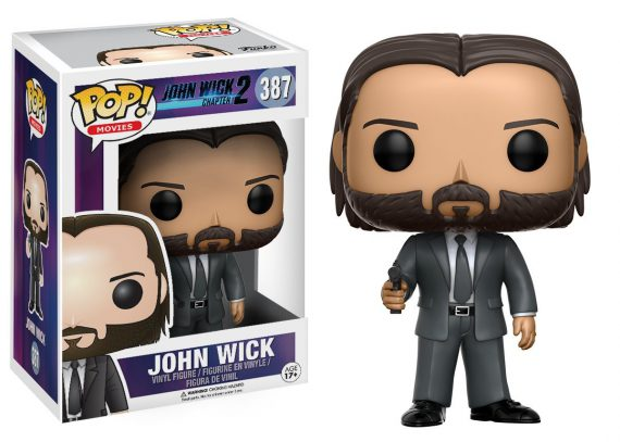 Funko POP! Movies JOHN WICK 387 Vinyl Figure