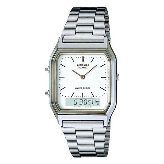 CASIO Collection AQ-230A-7D Orologio Uomo Vintage Style