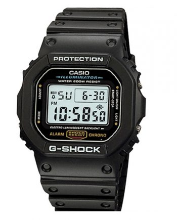 CASIO G-Shock DW-5600E-1V Orologio Digitale Vintage Look