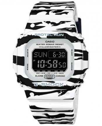 CASIO G-Shock DW-D5600BW-7C Orologio Digitale Tiger Stripes