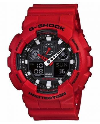 CASIO G-Shock GA-100B-4A Orologio da Uomo Analogico Digitale
