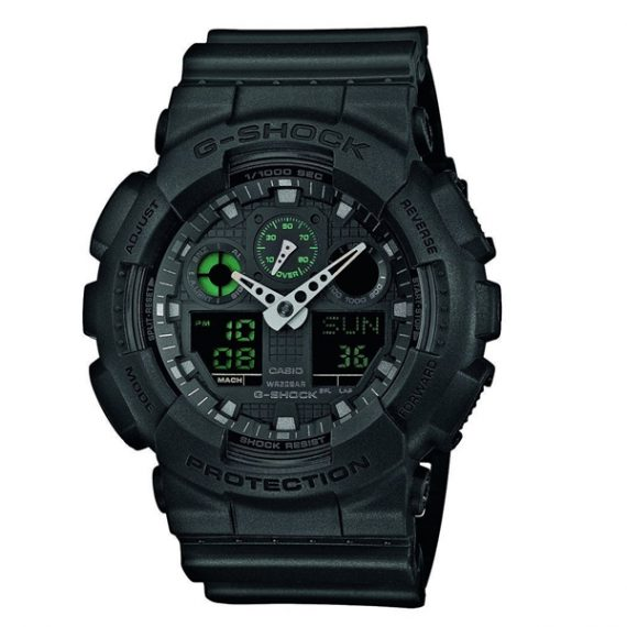 CASIO G-Shock GA-100MB-1A Orologio Uomo Analogico Digitale