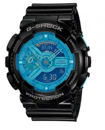 CASIO G-Shock GA-110B-1A2 Orologio Uomo Analogico Digitale