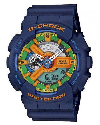 CASIO G-Shock GA-110FC-2A Orologio Uomo Analogico Digitale