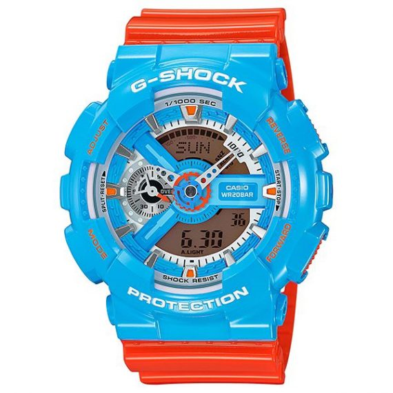 CASIO G-Shock GA-110NC-2A Neo POP Color Orologio Uomo