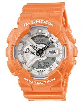 CASIO G-Shock GA-110SG-4A Orologio Uomo Time Pale Color