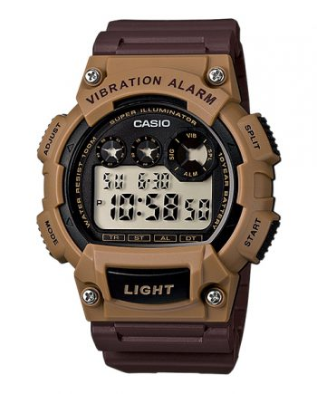 CASIO Collection W-735H-5A Orologio Digitale Super Illuminazione