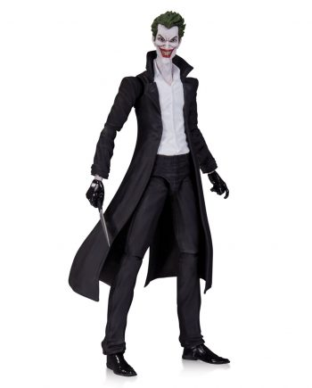 DC COLLECTIBLES Super Villains THE JOKER Action Figure 15cm