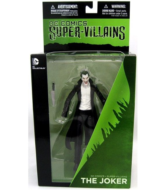 DC COMICS SUPER VILLAIN THE JOKER B