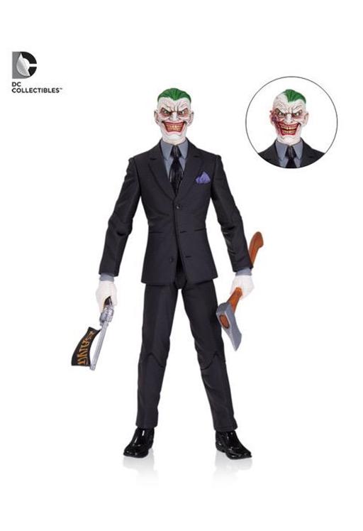 DC COMICS Designer THE JOKER (Greg Capullo Concept) Action Figure