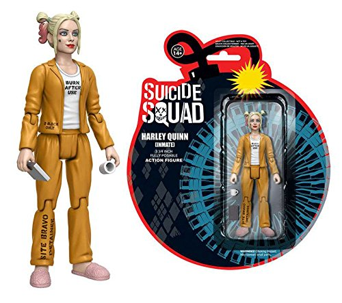 Funko ReAction Suicide Squad HARLEY QUINN INMATE