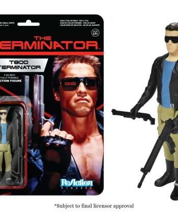 Funko ReAction The Terminator T800 TERMINATOR Action Figure