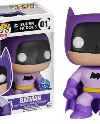 Funko POP! Heroes BATMAN Rainbow Purple 75th Anniversary