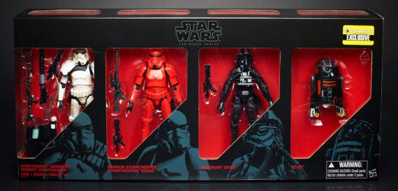 HASBRO Star Wars Black Series IMPERIAL FORCES Exclusive Set