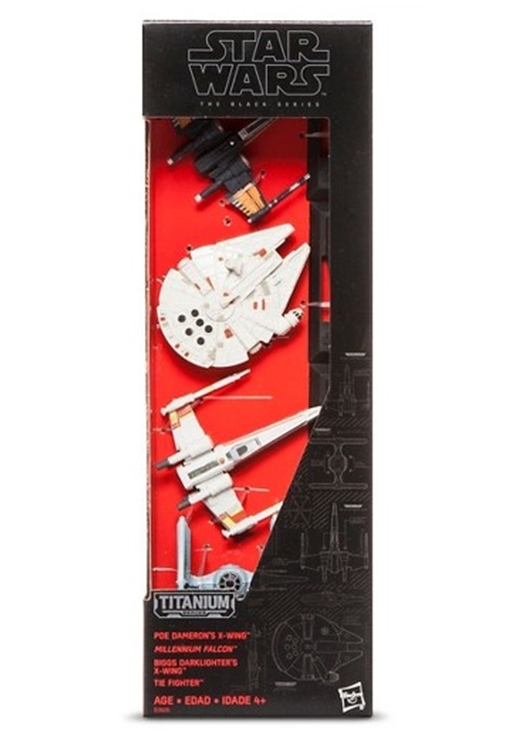 HASBRO Titanium Series Star Wars Vehicles Multi Pack
