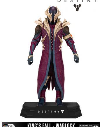 McFARLANE Toys King's Fall WARLOCK Action Figure 18cm
