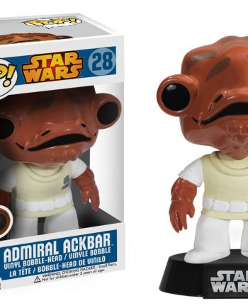 Funko POP! Star Wars ADMIRAL ACKBAR 28 Vinyl Figure