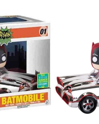 Funko POP! Rides BATMOBILE CHROME SDCC 2016 Vinyl Figure
