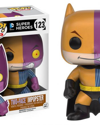 Funko POP! Heroes BATMAN TWO FACE IMPOPSTER 123 Vinyl Figure