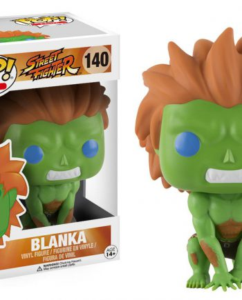 Funko POP! Games Street Fighter BLANKA 140 Vinyl Figure