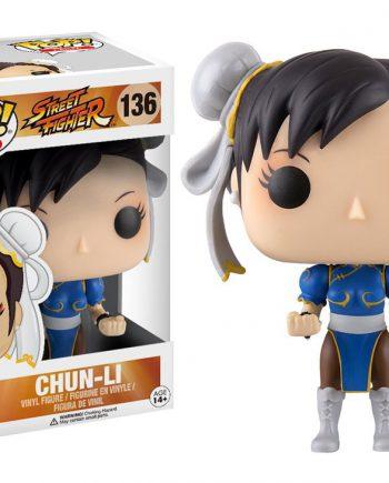 Funko POP! Games Street Fighter CHUN-LI 136 (DAMAGED BOX)