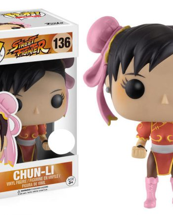 Funko POP! Games Street Fighter CHUN-LI (Red) 136 Vinyl Figure