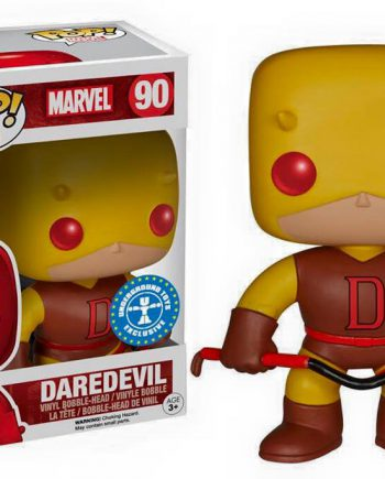 Funko POP! Marvel DAREDEVIL (Yellow) 90 Vinyl Figure .