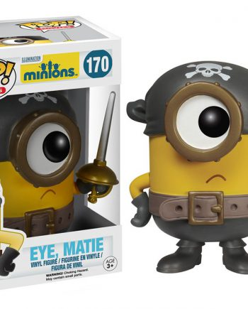 Funko POP! Movies Minions EYE MATIE 170 Vinyl Figure