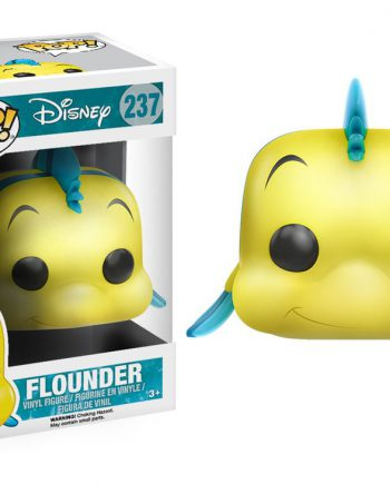 Funko POP! Disney The Little Mermaid FLOUNDER 237 Vinyl Figure
