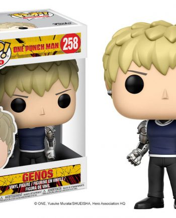 Funko POP! Animation One Punch Man GENOS 258 Vinyl Figure