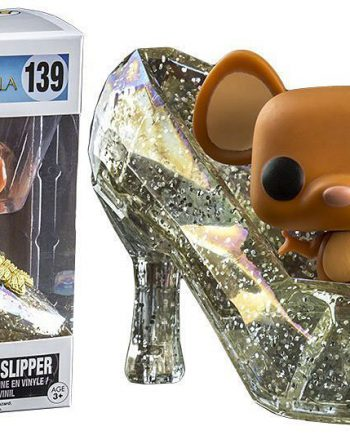 Funko POP! Disney Cinderella GUS GUS IN SLIPPER (Glitter) 139