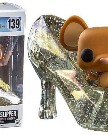 Funko POP! Disney Cinderella GUS GUS IN SLIPPER (Glitter) 139