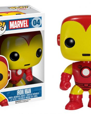 Funko POP! Marvel IRON MAN #04 Vinyl Figure (VAULTED)