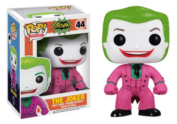 Funko POP! Heroes JOKER 1966 Batman Classic TV Series 44