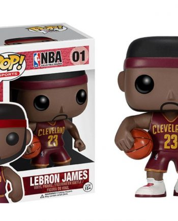 Funko POP! Sports NBA LEBRON JAMES (Cleveland Red Jersey) 01