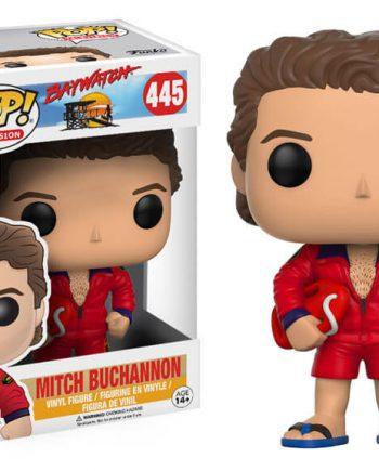 Funko POP! Television Baywatch MITCH BUCHANNON 445 Vinyl Figure