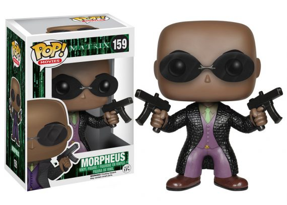 Funko POP! Movies MATRIX MORPHEUS 159 Vinyl Figure