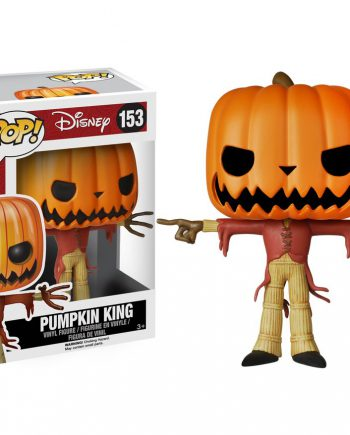 Funko POP! The Nightmare Before Christmas PUMPKIN KING 153