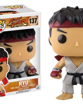 Funko POP! Games Street Fighter RYU 137 Vinyl Figure