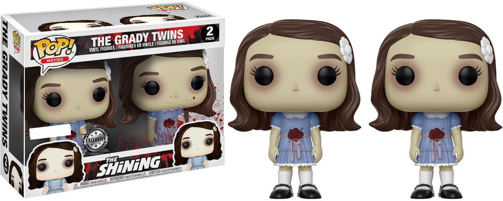 Funko Pop Shining The Grady Twins Chase 2 Pack