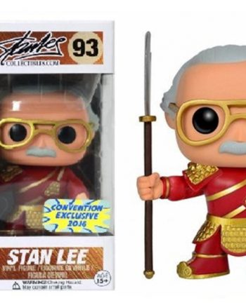 Funko POP! Asia STAN LEE GUAN YU Red 93 Exclusive
