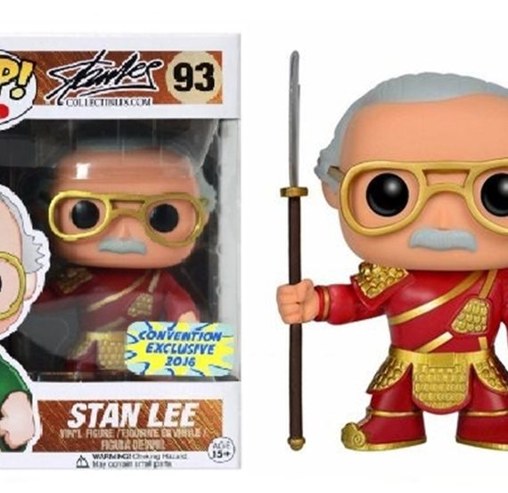 POP STAN LEE GUAN YU RED A