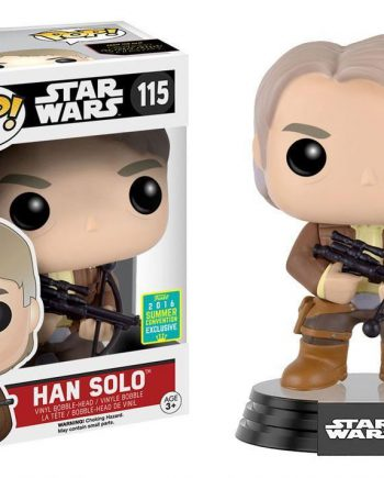 Funko POP! Star Wars HAN SOLO Bowcaster 115 SDCC2016