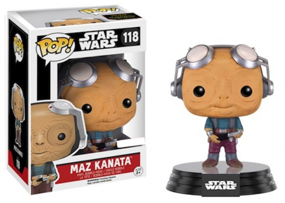 Funko POP! Star Wars MAZ KANATA (Goggles Up) 118
