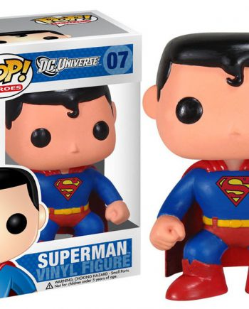 Funko POP! Heroes SUPERMAN DC Universe 07 Vinyl Figure