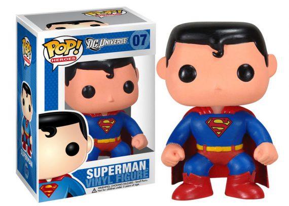 Funko POP! Heroes SUPERMAN DC Universe 07 Vinyl Figure