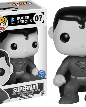 Funko POP! Heroes SUPERMAN Black & White 07 UT Sticker