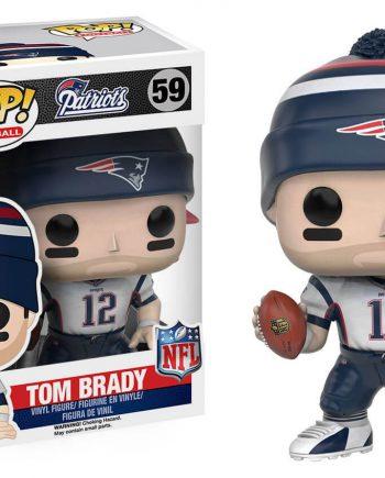Funko POP! Football Patriots TOM BRADY (Away Jersey) (Hat) 59