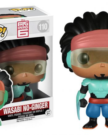 Funko POP! Big Hero 6 WASABI NO-GINGER 110 Vinyl Figure